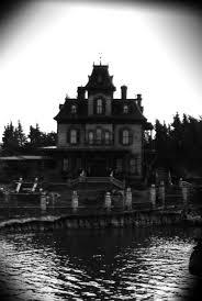 maison hante noir et blanc by lisboan on deviantart