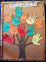 a child s thanksgiving tree activity craft