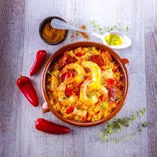 recette cuisine companion paella express aux crevettes recettes 10minutes chrono avec