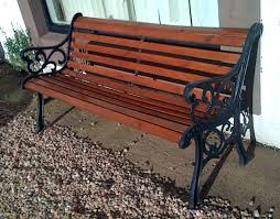 garden bench victorian refurbished ebaywaterproof outdoor storage