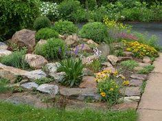 Garden Ideas With Rocks Rock Garden Gardening Pinterest Rock Gardens And Yards