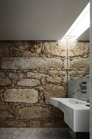 Stone Bathroom Designs 50 Wonderful Stone Bathroom Designs Digsdigs Rock Wall Bathroom