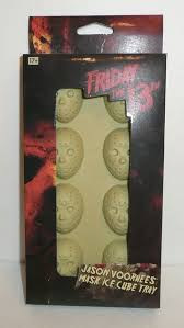 jason voorhees coffee table jason voorhees hockey mask ice cube tray friday the 13th horror
