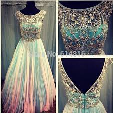 80s prom dress for sale buy scoop neck cap sleeve crystals beaded