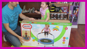 Little Tykes Toy Box Little Tikes Kid Toddler Trampoline Jumping Playing Toy Video
