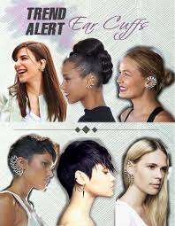 how do you wear ear cuffs trend alert ear cuffs how to wear them