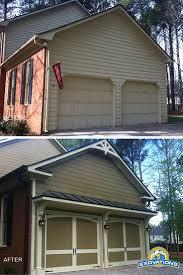 large garage painting garage door vinyl trimvinyl trim kitsvinyl setalmond