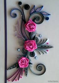 25 beautiful quilling flower designs and paper quilling cards