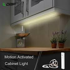 battery operated led lights for kitchen cabinets dbf cabinet lighting battery operated usb rechargeable motion activated led lights kit for cabinet kitchen wardrobe