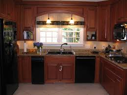 Mahogany Kitchen Designs Pictures Of Kitchens With Maghoney Stained Cabinets Custom