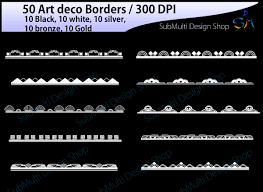 printable art deco borders art deco art deco borders art deco design bundles