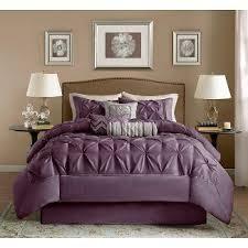 Pink And Brown Comforter Sets Purple Comforters Target