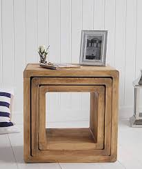 Homemade Wooden Bedside Table by 25 Best Wood Side Tables Ideas On Pinterest Reclaimed Wood Side