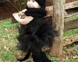 Toddler Cat Halloween Costume Cat Tutu Etsy