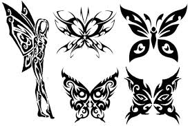 beautiful butterfly tattoos this it s tribal artbody