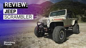 jeep scrambler blue conquer boulders in the 150 000 vintage jeep scrambler u2013 bloomberg