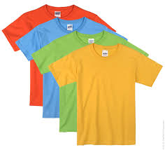 bright color kids t shirts the adair group