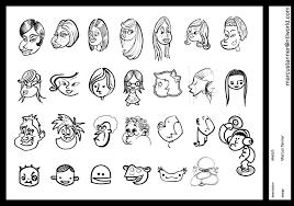 cartoon face sketch by emmgeetee on deviantart