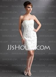 sheath column scalloped neck knee length charmeuse cocktail dress