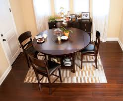 Round Dining Table For 8 With Lazy Susan Built In Lazy Susan With Storage Under The Table Jerome U0027s