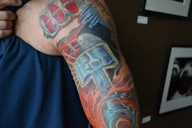 turbo and piston tattoo v8 engine tattoos pictures to pin on pinterest tattooskid