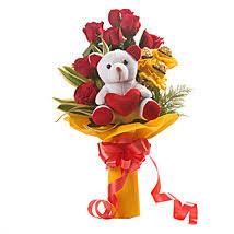 Roses Bouquet Send Roses Buy Roses Online Roses Online Delivery Ferns N Petals