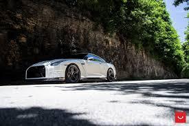 nissan sports car black vossen vfs 5 nissan gtr black edition
