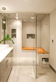 the entry into this contemporary steam shower bryn mawr contemporary bathrooms designs remodeling ideas with free consultations and award winning renovation services philadelphia montgomery bucks county