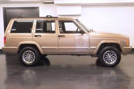 old jeep grand wagoneer jeep cherokee xj the next highly collectible old suv autotrader