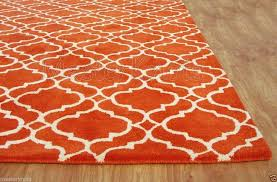 9 X 6 Area Rugs Kitchen Brilliant Fantastic Orange Area Rug 810 Bedroom Best