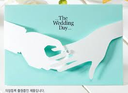 creative wedding invitations gorgeous creative design light carring the ring new wedding