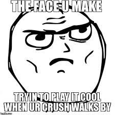 Cool Face Meme - determined guy rage face latest memes imgflip