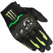 monster motocross helmets alpinestars mx 10 air monster black green gloves motocard