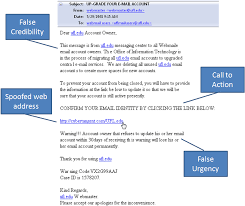 Uf Computing Help Desk Phishing Email Information Security Information Technology