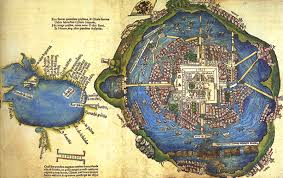 Map De Mexico by The Nuremberg Map Earliest Known Map Of Mexico Tenochtitlan And