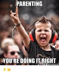 Metal Memes - parenting you re doing itright metal meme com meme on sizzle