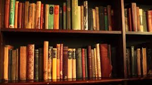 free stock footage bookshelf with old books 01 youtube
