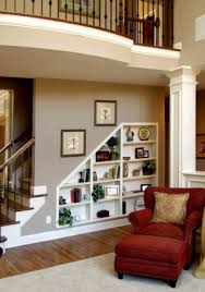 Shelves Between Studs by Built In Shelves Between Studs U0026 Under Stairs Make Use Of That
