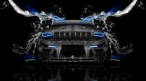 monster jeep grand cherokee jeep grand cherokee srt8 front water car 2014 el tony