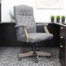 Upright Armchairs Wood Office Chairs You U0027ll Love Wayfair