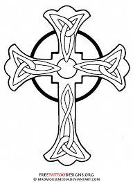 cross line drawing clip art 49
