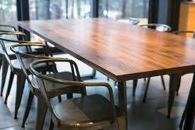Walnut Dining Room by Mez Works Furniture U0027sakamoto U0027 Clear Walnut Dining Table