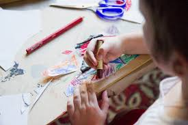 how to prepare fun art doodle coloring station for toddlers