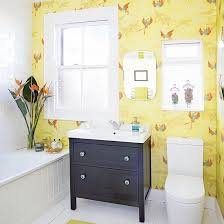 black and yellow bathroom ideas plain white bathroom with potted plants yellow bathrooms black