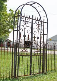 iron country french arbor entry gate 8 u0027 tall arch