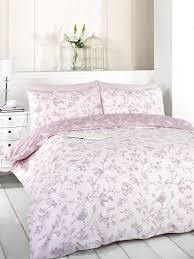 signature home french bird toile duvet cover set with matching