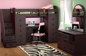 Bunk Bed With Desk And Stairs Attractive Bunk Bed With Stairs And Desk Bunk Bed With Desk And