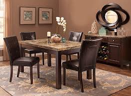 raymour and flanigan dining room sets bedrock contemporary dining collection design tips ideas