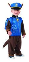 Halloween Costumes Toddler Boy Paw Patrol Chase Halloween Costume Toddler Child Size Toys