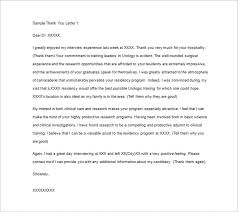 medical thank you letter u2013 10 free sample example format